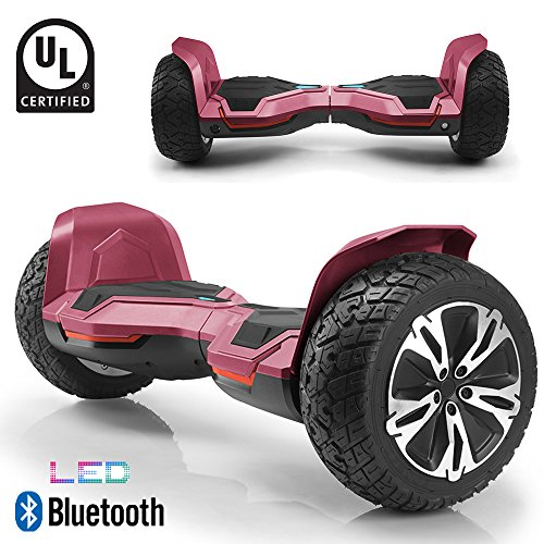 BornTech UL2272 Certified All Terrain 8.5' Wheels Off Road Hoverboard Electric Scooter Smart...