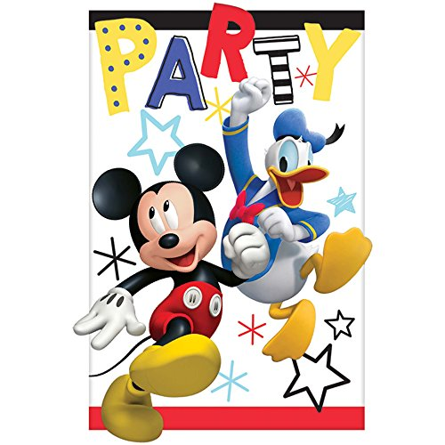 Amscan Mickey Mouse Party Supplies On The Go Invitations (8)