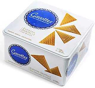 Gavottes Crispy Rolled and Fan Wafers (TIN box 52.91oz)