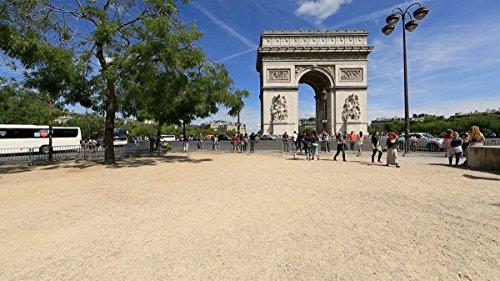Balades en Vélo Virtuelles – Paris, France pour exercices en intérieur, vélo d'appartement et tapis roulant.
