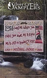 Mychal's Prayer Cross Stitch Chart and Free Embellishment