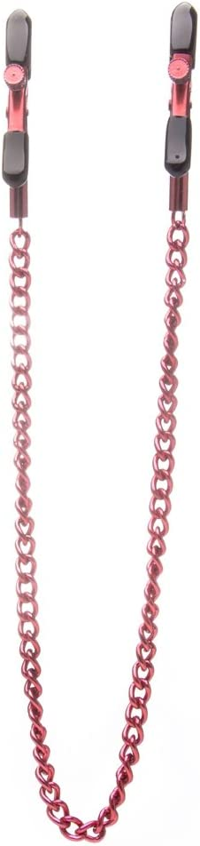 Ouch by Shots America free shipping Max 58% OFF - Nipple Clamps Red Adjustable
