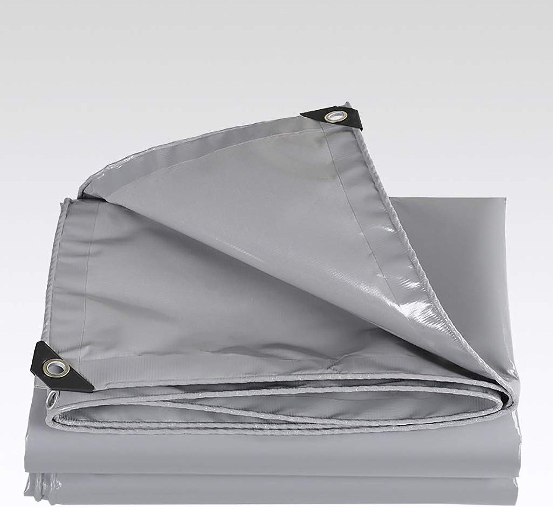 Sun Predection Rain Cloth MoistureProof Tarpaulin Tent, Car Tarpaulin Outdoor Shed Cloth Crepe Windproof Cloth PVC Sunshade Cloth (Size   6  8m)