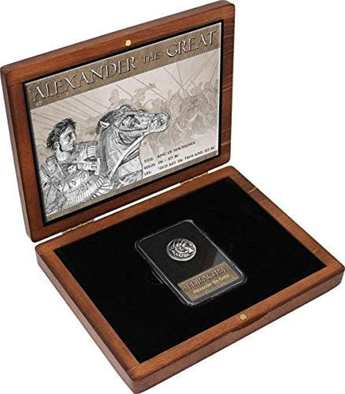 IMPACTO COLECCIONABLES ANTIKE Münzen - Alexander der Groe Drachme in Silber
