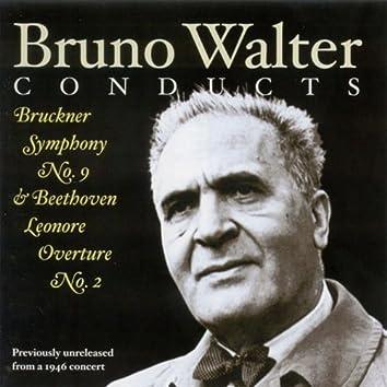 Bruckner, A.: Symphony No. 9 / Beethoven, L. Van: Leonore Overture No. 2 (New York Philharmonic Symphony, Walter) (1946)