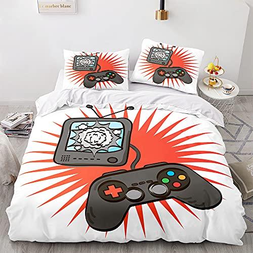 Gamepad Bedding Set for Kids Boys Girls Gamer Videogame Controller Duvet Cover Set Duvet Cover with...