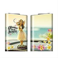グローシール glo グロー シール glo グロー専用 スキンシール 電子タバコ ステッカー 「Hawaian ハワイアン プリント」シリーズ 06 Hawaian 10-gl1046