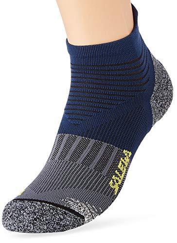 SALEWA Socken Approach Edge N Sk, Blue/Ombre Blue, 38-40