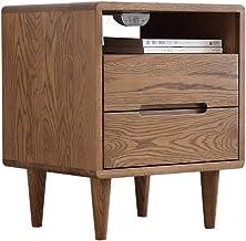 DHINGM Solid Wood Bedside Table, Locker Modern Minimalist Bedroom Furniture Bedside Cabinet Storage Cabinet Suitable for B...