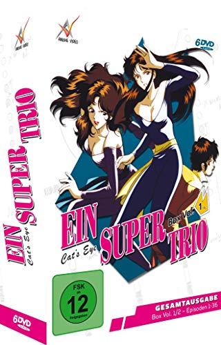 Ein Supertrio - Cat´s Eye - Gesamtausgabe - Vol. 1 - [DVD]