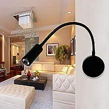 YINGYINGSM Wandlamp Zwart Flexibele slang LED Moderne Wandlamp Flexibele Arm Licht LED Spiegelverlichting Oogbescherming V...
