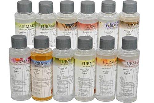 Huile parfumée Furmare 100 ml - Senteur Jasmin - Cadeau Anniversaire Brûleur Diffuseur - 772