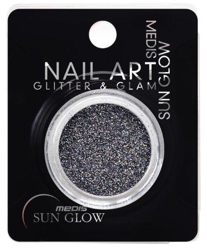 Medis Sun Glow Art Glitter & Glam Gris Nacre, de 4 (4 x 1 pièce)