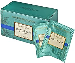 FORTNUM & MASON, London - ROYAL BLEND - 75 tea bags (3 boxes of 25 bags)