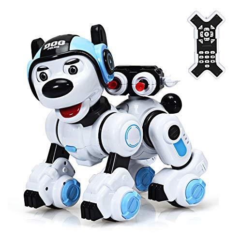 DREAMADE Ferngesteuerter Roboter, Intelligenter Spielzeughund für Kinder, Lernspielzeug Roboter, Interaktiver &...