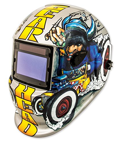 Shop Iron 41290 Solar Powered Auto Darkening Welding Helmet