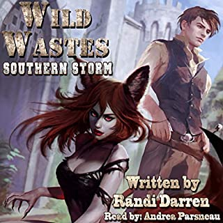 Wild Wastes: Southern Storm                   Written by:                                                                                                                                 Randi Darren                               Narrated by:                                                                                                                                 Andrea Parsneau                      Length: 13 hrs and 29 mins     16 ratings     Overall 4.8