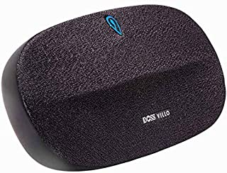 DOSS Bluetooth 4.2 Stereo Speaker with DSP Technology, Aluminum Bracket,10 hours Playtime, Aux in and TF Port