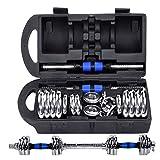 Top Power Cast Iron 20Kg Dumbbells Set of Gym Weights Barbell/Dumbbell Body Building 20KG SET