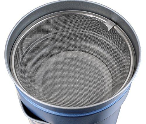 パール金属ふっ素加工活性炭ろ過フィルター付オイルポット1LHB-2142