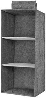 Levoberg Etagère Suspendu pour Armoire en Tissu Etagère de Rangement Penderie Organisateur Suspendu de Vêtements 3 étages ...
