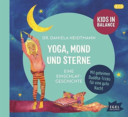 Yoga, Mond und Sterne. Eine Einschlafgeschichte Titelbild