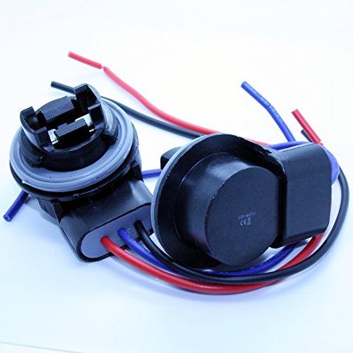 2x Lámpara Capacidad–3157(T20) Socket–Bombilla Conector casquillos Capacidad.