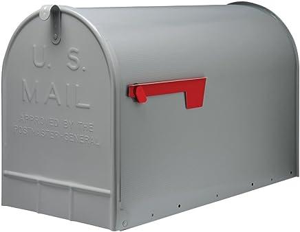アメリカン メールボックス ジャンボサイズ グレー