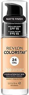 Revlon ColorStay Base de Maquillaje piel mixtograso FPS15 (#300 Golden Beige) 30ml
