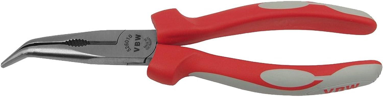 VBW VBW VBW 526010 Flachrundzange 45°, Mehrkomponenten-Griffe, 200mm B000VKLZN0  Modisch aafb92