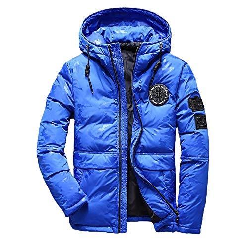 Jianhui Heren Winter Jas Hooded camouflage dikke jas ultralight jas