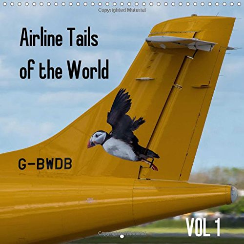 Airline Tails of the World Vol1 (Wall Calendar 2017 300 × 300 mm Square): Passenger Airline Aircraft Tails (Monthly calendar, 14 pages ) (Calvendo Places)