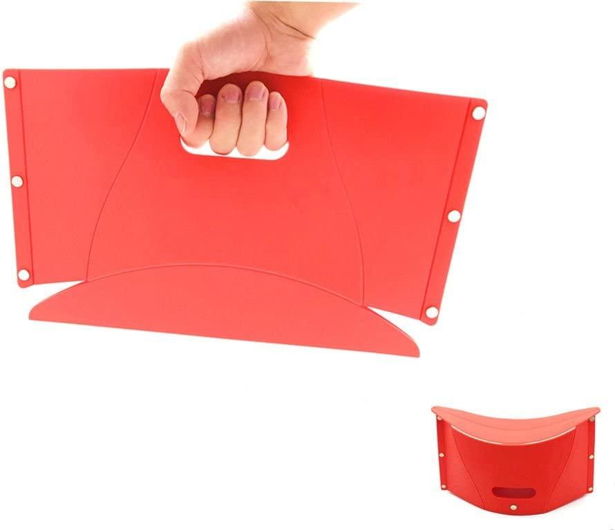 LLZ 100% quality Japan's largest assortment warranty shop Red Polypropylene Materials Chair Little Folding Ho for