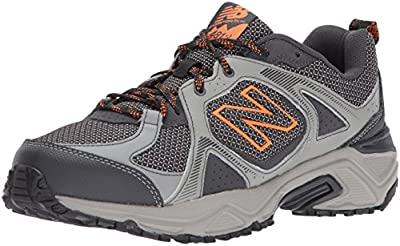 New Balance Men's 481 V3 Trail Running Shoe, Team Away Grey/Magnet, 11 XW US