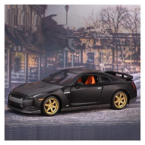 Aleación presión fundición Coche Modelo Kit 1:24 para GTR Sports Car Convertible Mini Aleación De Automóvil Modelo De Auto Simulación Coche Decoración Colección Regalo Juguete (Color : 1)