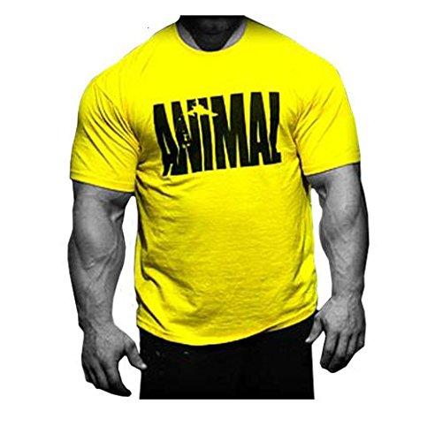 Universal Nutrition Animal Shirt Miltary Shirt (gelb, XXL)