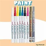 Sign Print Lab PX21 Uni Lack Marker Kugelspitze feine Spitze (0.8mm -1.2mm) Ölbasis PX-21 x 1QT...