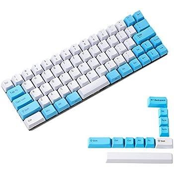 YMDK Blue Beige Orange Dye Sub 64 68 Minila Keyset Thick PBT OEM Profile Keycap for Filco Minila YD60M XD64 GK64 Tada68 Only Keycap