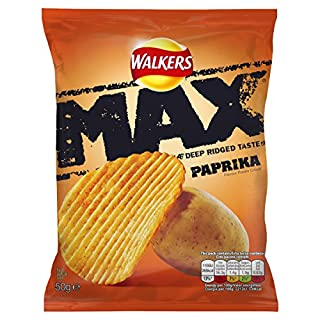 Walkers Max Paprika 50 g (Pack of 32) (B002Q6OF3O) | Amazon price tracker / tracking, Amazon price history charts, Amazon price watches, Amazon price drop alerts