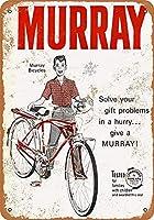 Murray Bicycles ティンサイン ポスター ン サイン プレート ブリキ看板 ホーム バーために