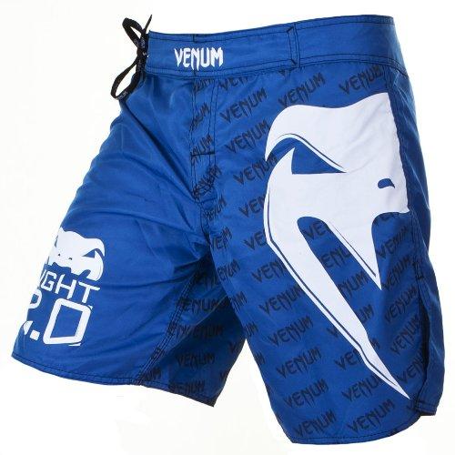 Venum Light 2.0 Kampfshorts, Blau, Größe XL