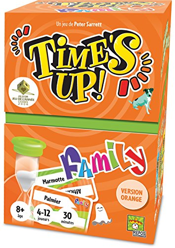 Time's Up Family 2 - Orange - Asmodee - Jeu de société - Jeu famille - Jeu d'ambiance