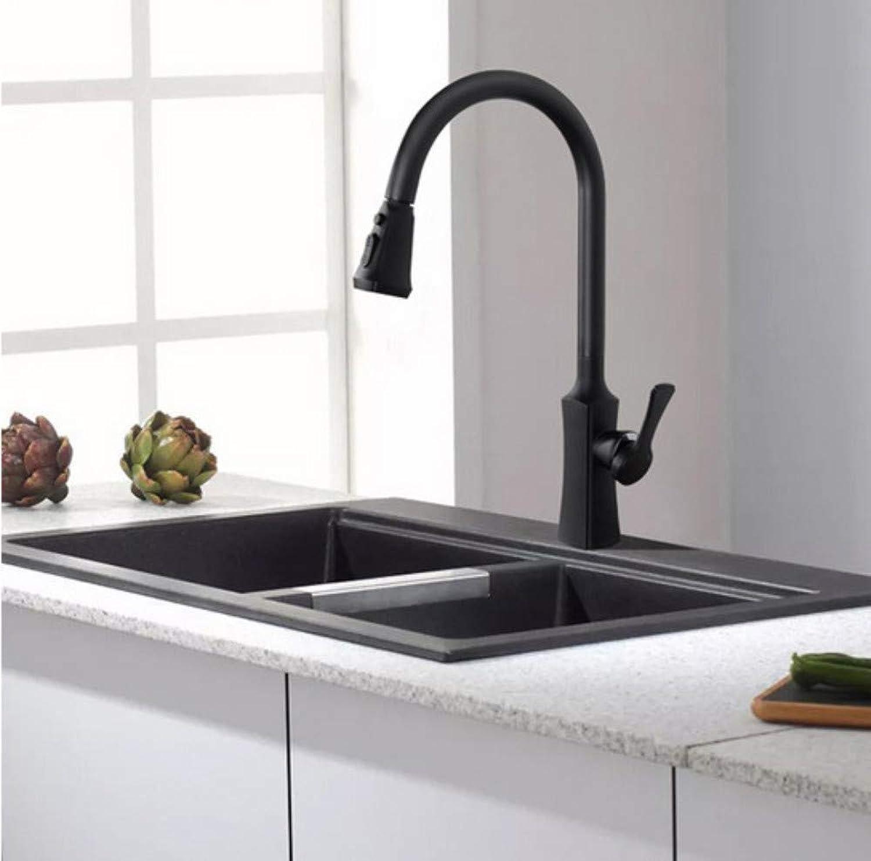 CZOOR Mattschwarz Küchenarmaturen Kran für für für Küche ...