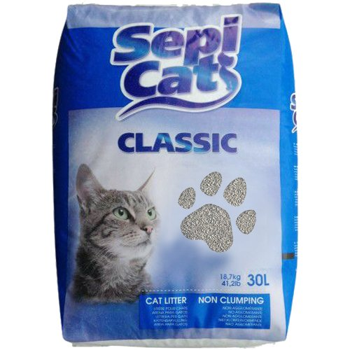 Sepicat Classic Ligero No agrupamiento Cat Litter, 30L