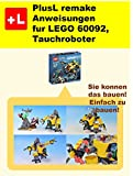 PlusL remake Anweisungen fur LEGO 60092,Tauchroboter: Sie konnen die Tauchroboter aus Ihren eigenen...