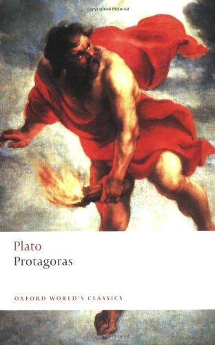 Protagoras (Oxford World's Classics)