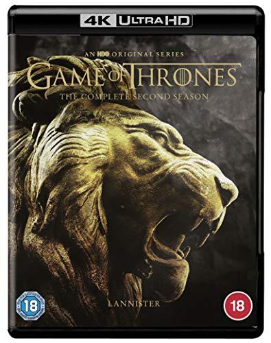 Game of Thrones: Season 2 [4K Ultra HD] [2012] [Blu-ray] [Region Free]