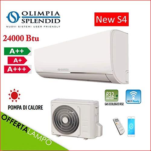 Olimpia Splendid Climatizzatore Condizionatore Inverter 24000 Btu S4 E WiFi