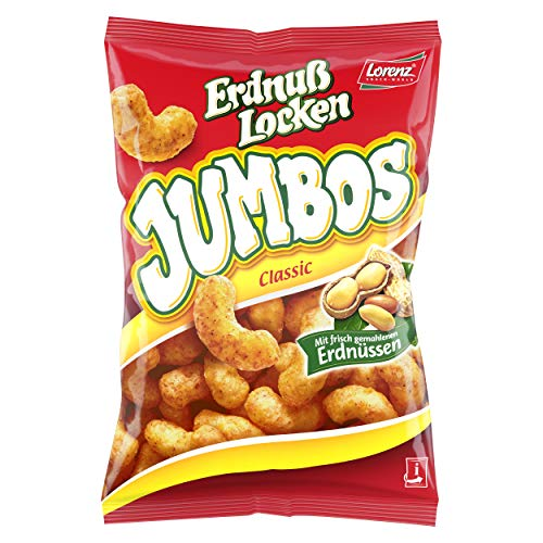 Lorenz Snack World ErdnußLocken Jumbos, 21er Pack (21 x 175g)