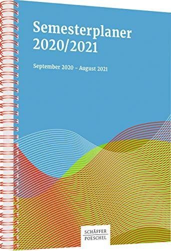 Semesterplaner 2020/2021: September 2020 - August 2021